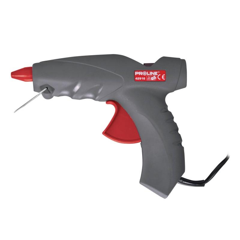 Pistol de lipit cu silicon 20/200 W, Negru/Rosu 2021 shopu.ro