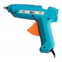 Pistol de lipit cu silicon, putere 60 W, albastru