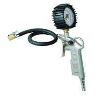 Pistol pentru umflat cu manometru Mega, 6 bar, conector 1/4, furtun 40 cm