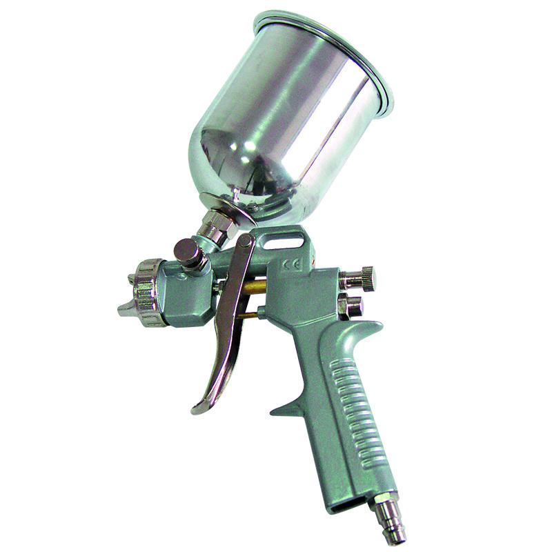 Pistol pentru vopsit Mega, 100/200 l, 3 bar, rezervor superior 2021 shopu.ro