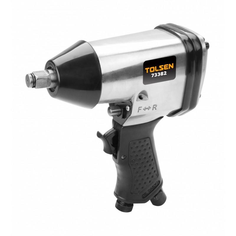 Pistol pneumatic Tolsen, 340 MN, 160 rpm, 210 l/min, 17 piese