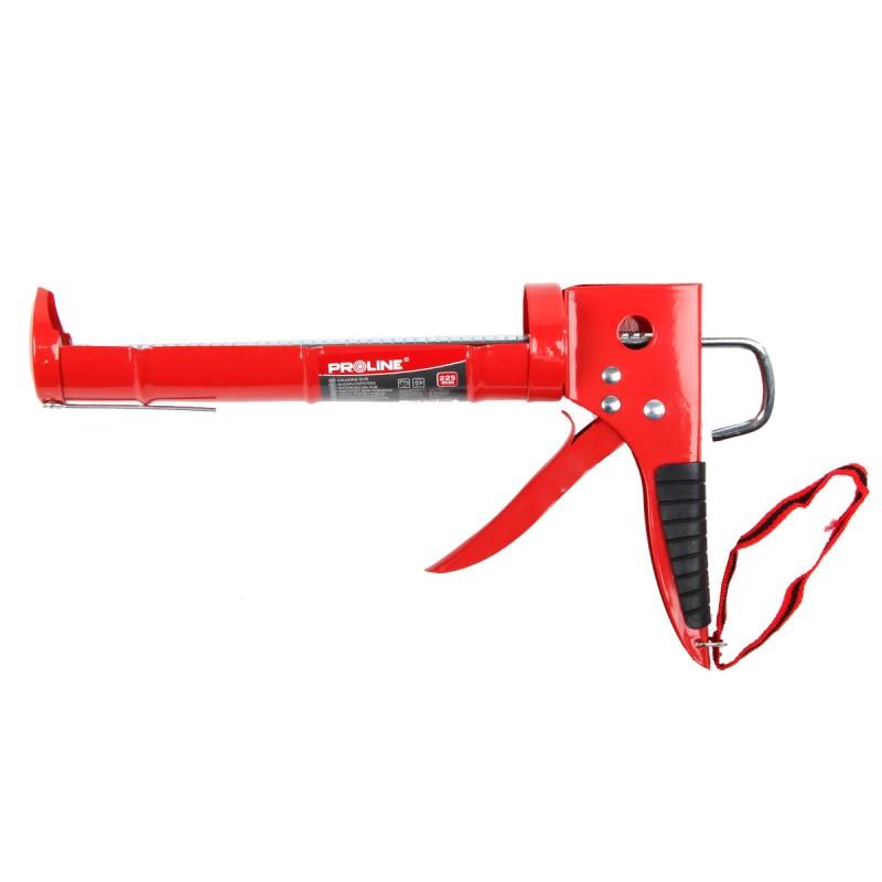 Pistol pentru silicon Proline, 225 mm, cadru otel semicilindric shopu.ro