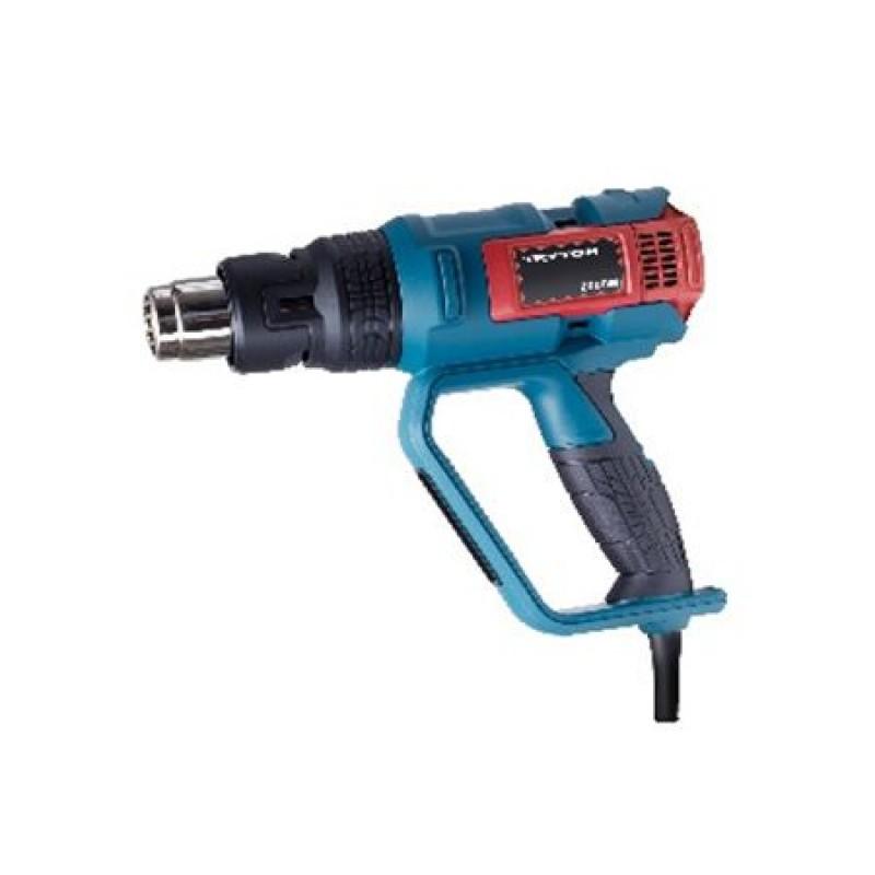Pistol suflant aer cald Tryton, 2000 W, 500 l/min, Albastru
