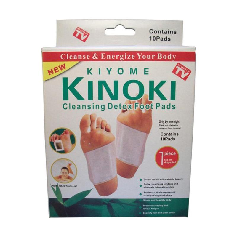 Plasturi detoxifiere Kinoki Kiyome, 10 bucati
