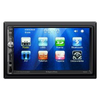 Player auto Kruger&Matz, 4 x 40 W, 2 DIN, 800 x 480 px, display 7 inch, bluetooth 2.1, port USB, ecran tactil, microfon incorporat