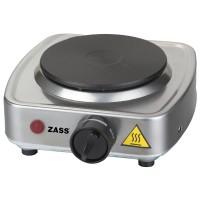 Plita electrica Zass ZHP 01, 300 W, inox, 1 arzator