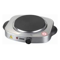 Plita electrica Zass ZHP 03, 1500 W, inox, 1 arzator