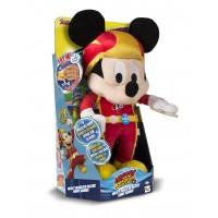 Jucarie Plus Mickey Roadster Racers cu functii, 3 ani+, Galben/Rosu