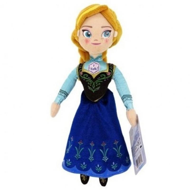 Papusa plus Elsa Frozen, 20 cm, 3 ani+