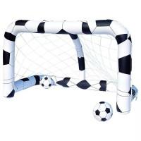 Poarta de fotbal gonflabila pentru copii Bestway, vinil, 213 x 122 x 137 cm, 3 ani+