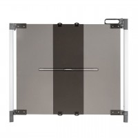 Poarta de siguranta extensibila DesignLine ClearVision Reer, 74-100 cm, sistem ActiveLook