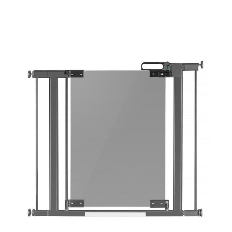 Poarta de siguranta extensibila Reer DesignLine Puristic, 76-124.5 cm, structura metalica 2021 shopu.ro