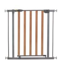 Poarta Siguranta Hauck Wood Lock Safety Gate/Silver, 75-80 cm