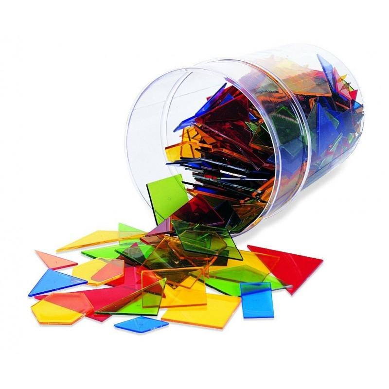 Poligoane colorate, 450 bucati, 5 - 13 ani 2021 shopu.ro