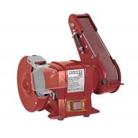Polizor de banc si slefuitor cu banda Raider, 250 W, 2950 rpm, disc 150 mm, viteza slefuire 15.5 m/s