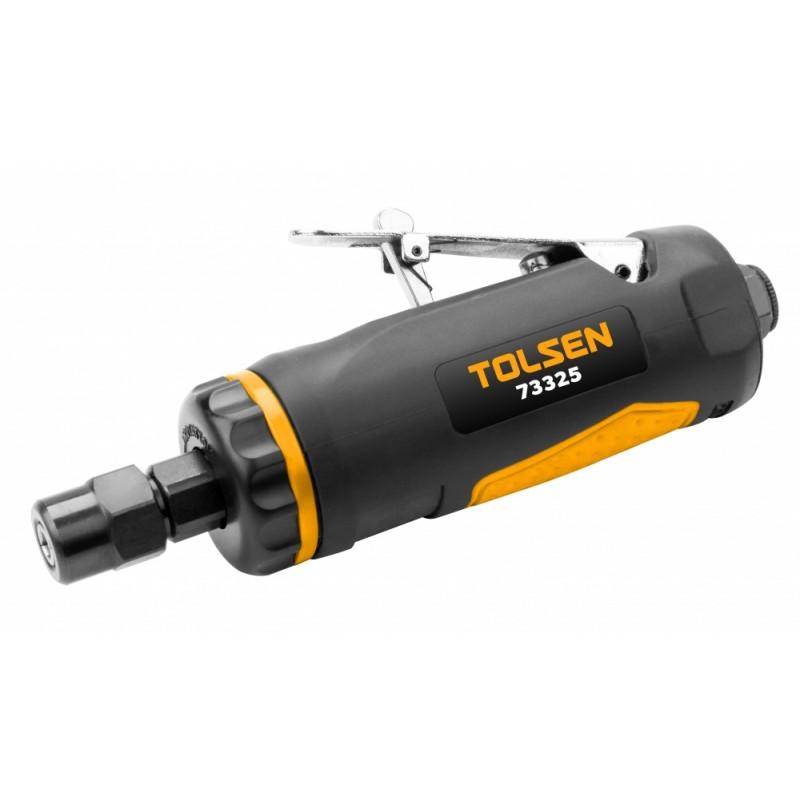 Polizor pneumatic drept Tolsen, prindere 1/4, 6.2 bar, 127 l/min, 2200 rpm shopu.ro