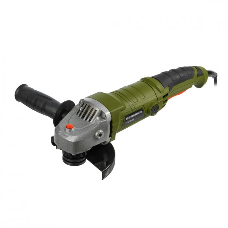 Polizor unghiular Heinner, 900 W, 11000 rpm, 125 mm, Verde shopu.ro