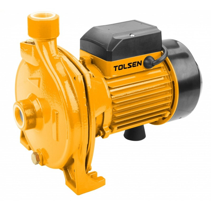 Pompa apa centrifuga de suprafata Tolsen, 750 W, inaltime 8 m, 110 l/min, rotor cupru 2021 shopu.ro