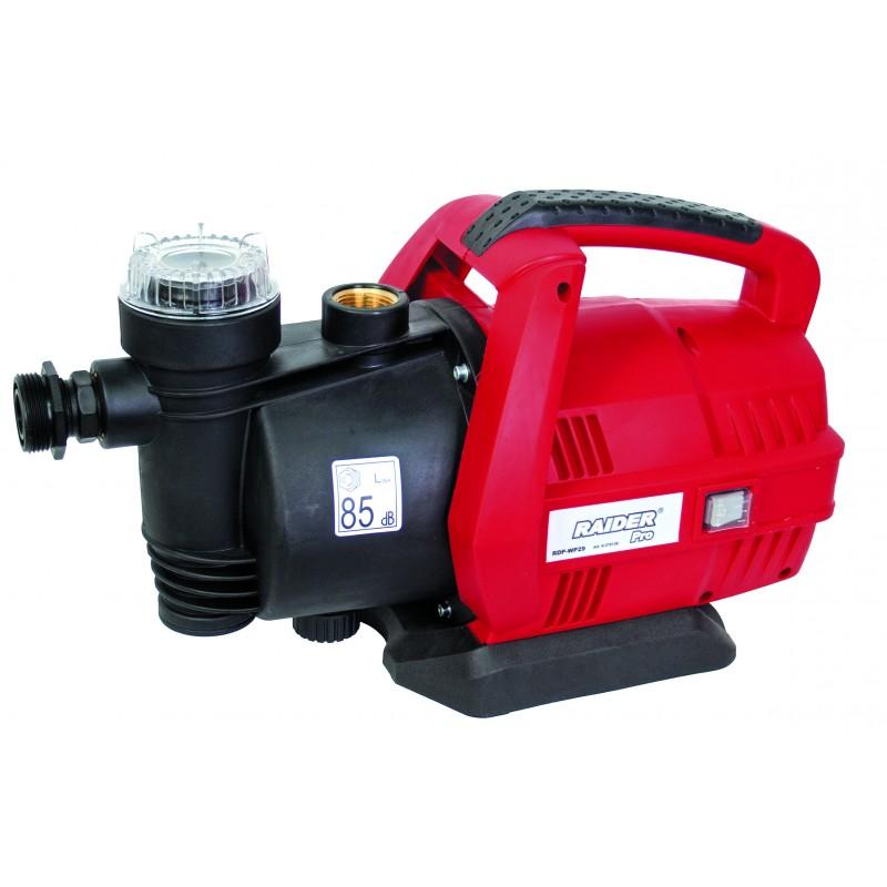 Pompa de apa centrifugala de suprafata Raider, 650 W, 2850 rpm, 38 m, 3780 l/h