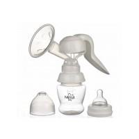 Pompa san manuala cu biberon si tetina Minut Baby, fara BPA