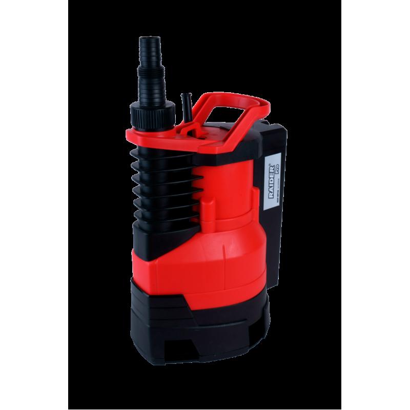 Pompa de apa submersibila pentru apa murdara Raider, 400 W, 2900 rpm, 5 m, 9000 l/h shopu.ro