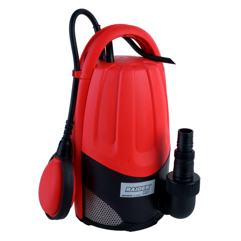 Pompa de apa submersibila pentru apa murdara Raider, 900 W, 2900 rpm, 9.5 m, 15000 l/h 2021 shopu.ro