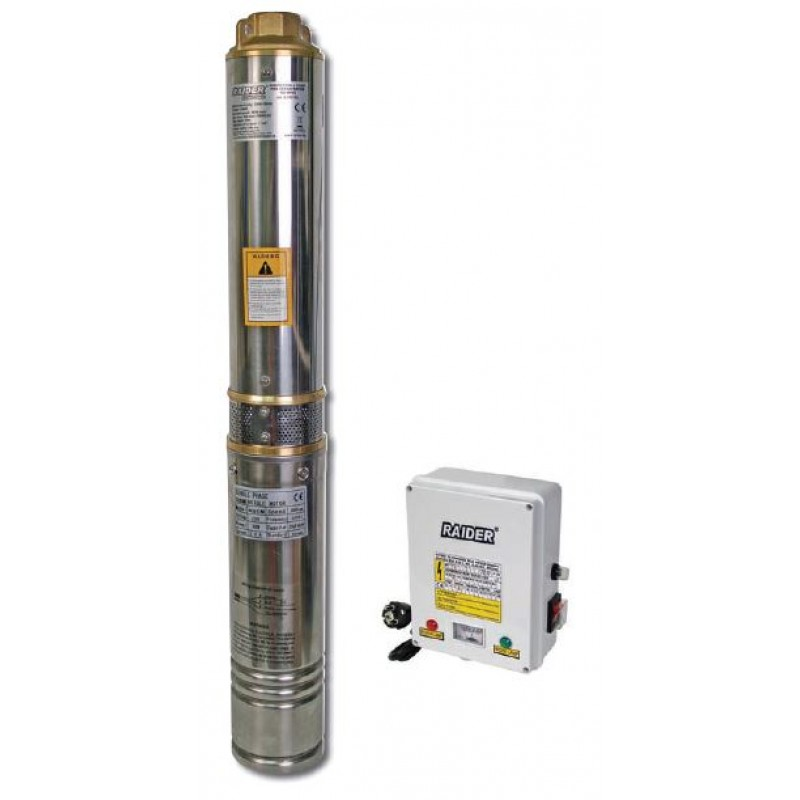 Pompa submersibila de adancime Raider, 700 W, 2900 rpm, 45 m, 3900 l/h shopu.ro