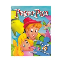 Puzzle pentru copii Peter Pan Girasol, 6 imagini, 3 ani+