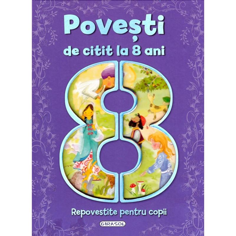 Carte 7 povesti pentru copii Girasol, 118 pagini, 8 ani+ imagine