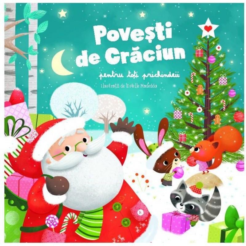 Carte pentru copii Povesti de Craciun Editura Kreativ, 96 pagini, 3-10 ani 2021 shopu.ro