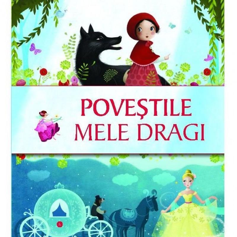 Carte pentru copii Povestile mele dragi Editura Kreativ, 96 pagini, 0-6 ani 2021 shopu.ro
