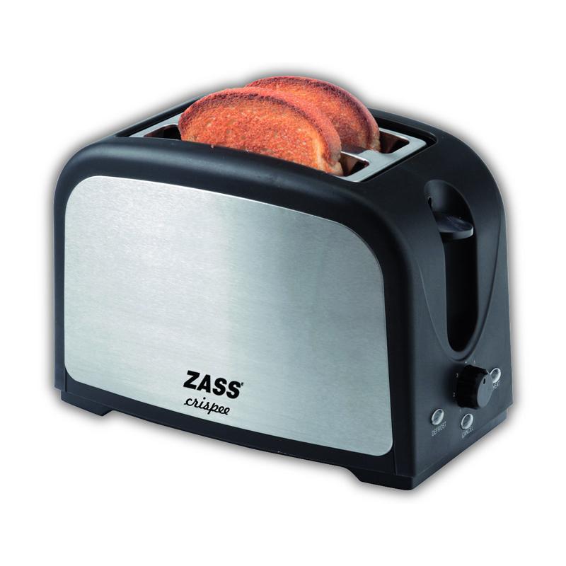 Prajitor de paine Zass ZST 02, 750 W, finisaj inox 2021 shopu.ro