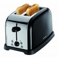Prajitor de paine Trisa Retro Style, 850 W, maxim 2 felii, negru