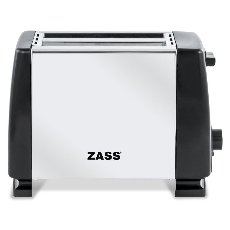 Prajitor de paine Zass, 800 W, tavita frimituri, suporta maxim 2 felii 2021 shopu.ro