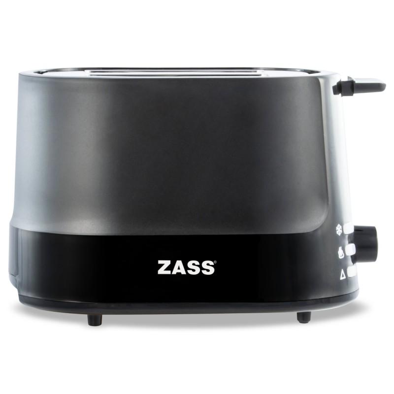 Prajitor de paine Zass Black Line, 850W, tavita frimituri 2021 shopu.ro