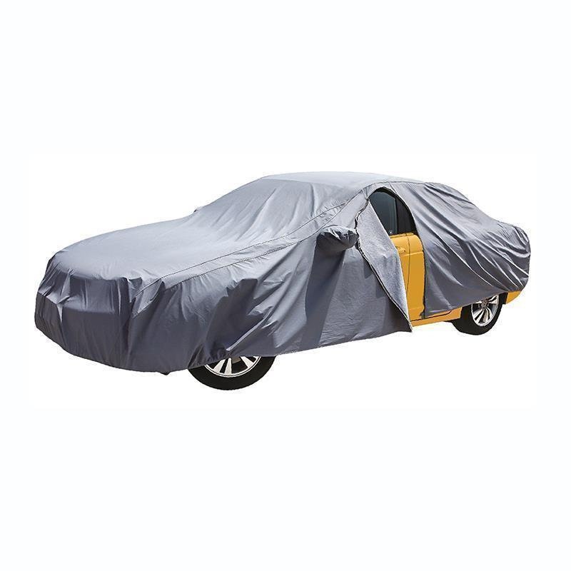 Prelata auto RoGroup, impermeabila 3 straturi, marimea XXL, gri 2021 shopu.ro