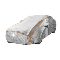 Prelata auto impermeabila cu protectie pentru grindina RoGroup, 3 straturi, 430 x 160 x 120 cm, marimea M