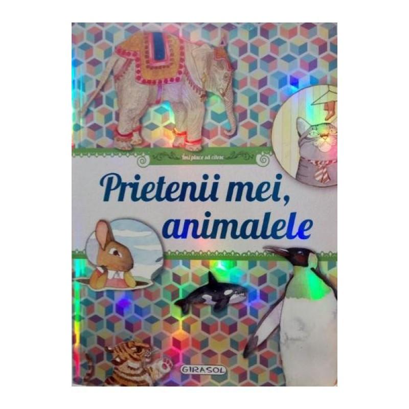 Carte pentru copii Prietenii mei animalele Girasol, 3 ani+ 2021 shopu.ro