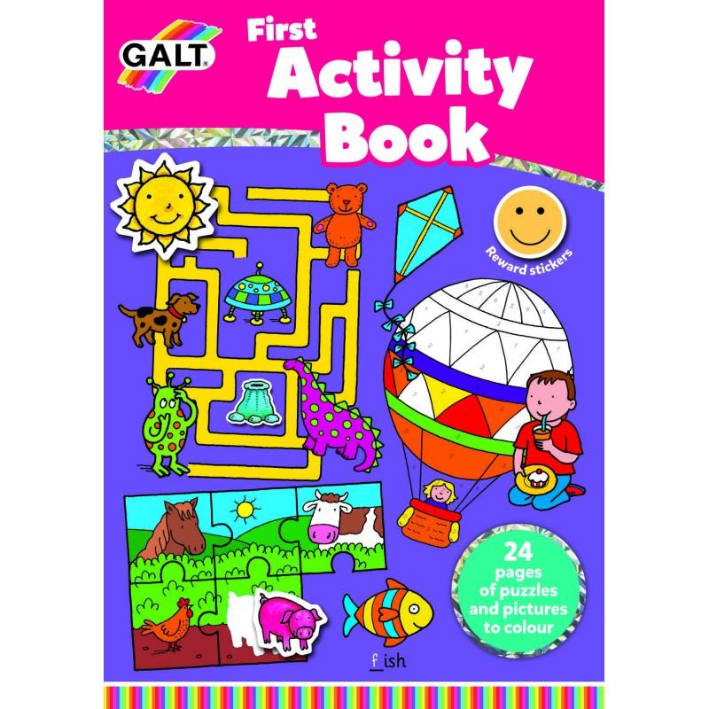Carte Prima carte cu activitati Galt, 24 pagini, 5 ani+ 2021 shopu.ro