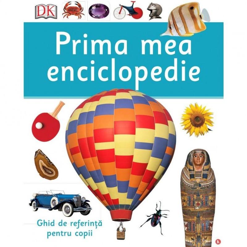 Prima mea enciclopedie Editura Kreativ, 168 pagini, 3-14 ani 2021 shopu.ro