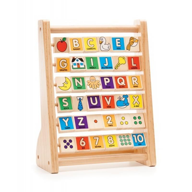 Primul meu alfabetar din lemn 2021 shopu.ro