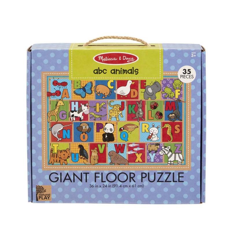 Puzzle de podea Alfabetul Animalelor Melissa and Doug, 3 ani+