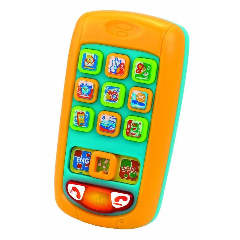 Primul meu telefon mobil Little Learner, alimentare 2 x AAA, 12 luni+