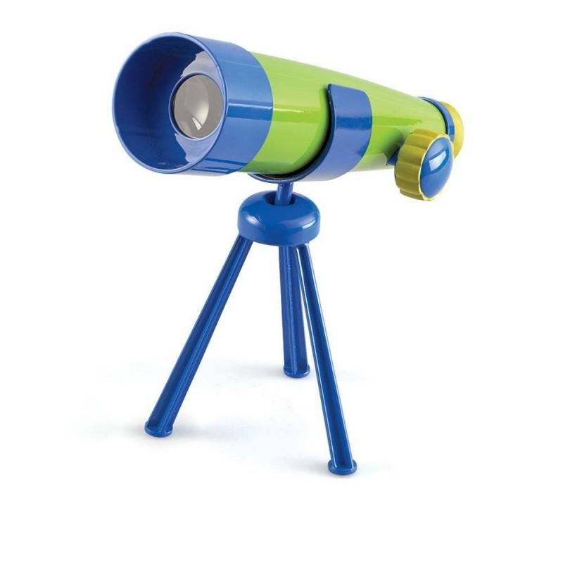 Jucarie interactiva Primul meu telescop Learning Resources, marire x 20, 3 - 7 ani