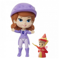 Figurine Printesa Sofia mini si Zana Florilor, 8 cm, 3 ani+