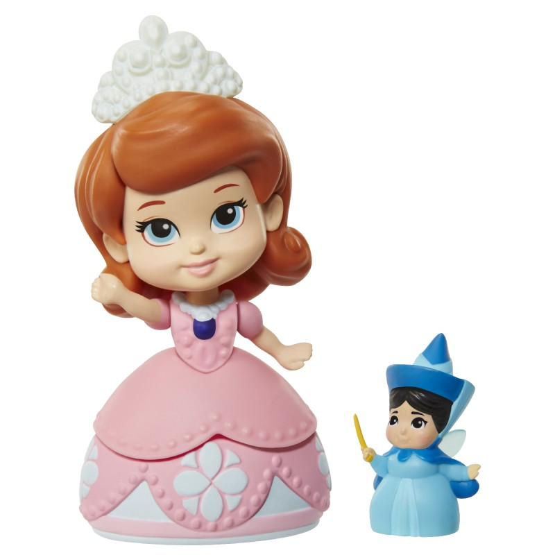 Figurina Printesa Sofia mini si Zana Vreme Buna, 8 cm, 3 ani+ 2021 shopu.ro