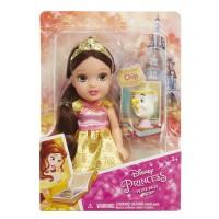 Papusa Printesa Disney Belle, 15 cm, 3 ani+