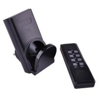 Priza cu telecomanda Kemot, 1000 W, 230 V, Negru