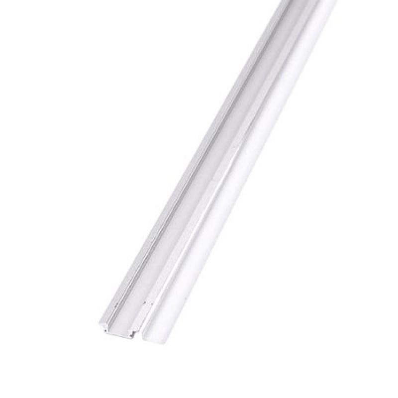 Profil aluminiu pentru banda LED, 2 m, capac alb mat shopu.ro