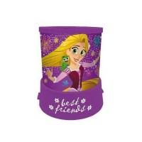 Proiector LED Disney Princess Rapunzel SunCity, 11 x 12 cm, 3 ani+